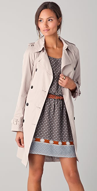 Club Monaco Layla Trench Coat