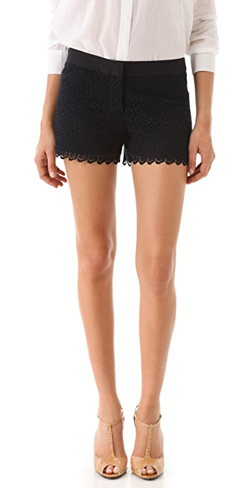 Club Monaco Diaz Lace Shorts