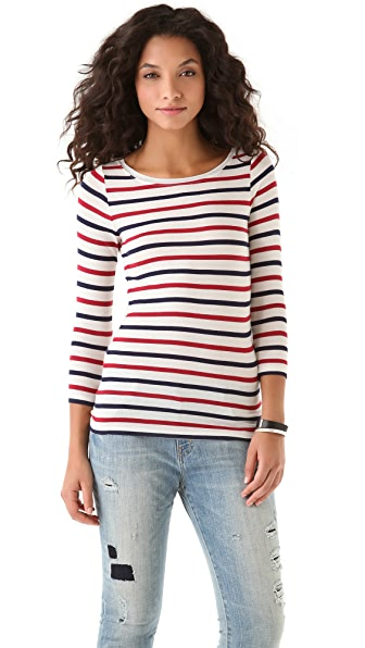Club Monaco Faye Stripe Tee