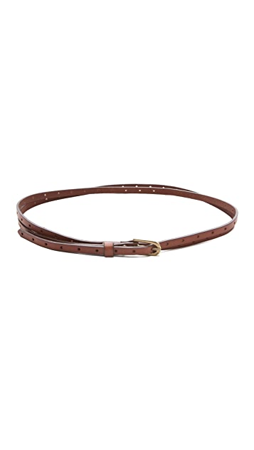 Club Monaco Diane Double Wrap Belt