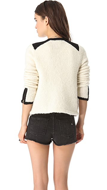Club Monaco Marsha Sweater Jacket