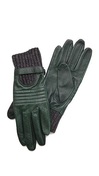 Club Monaco Wanda Moto Gloves