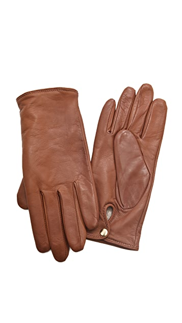 Club Monaco Nicole Leather Gloves
