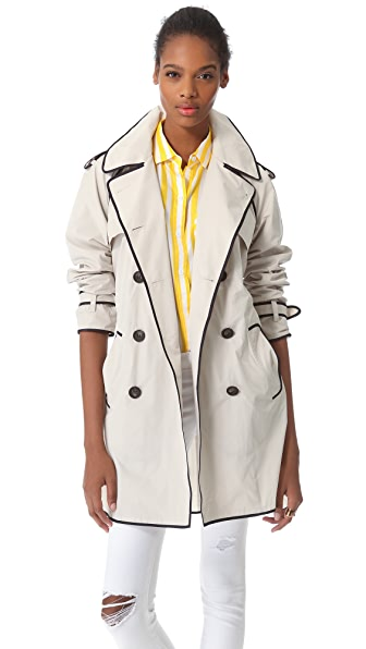 Club Monaco Rose Trench Coat