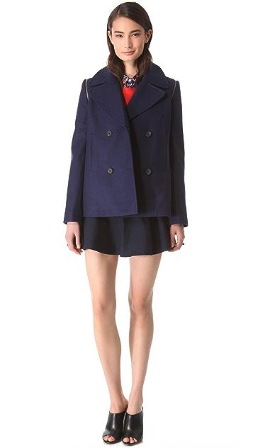 Club Monaco Akira Pea Coat