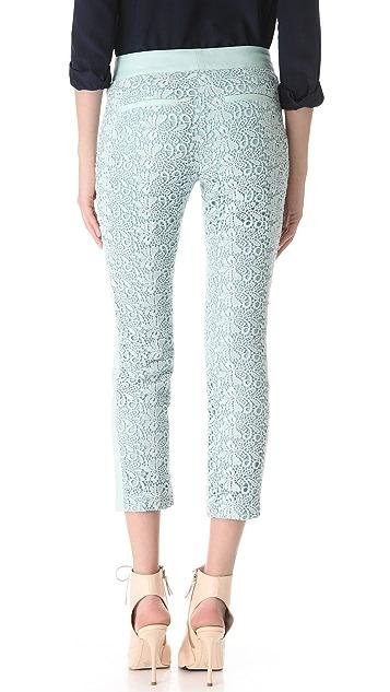 Club Monaco Miller Cropped Lace Pants