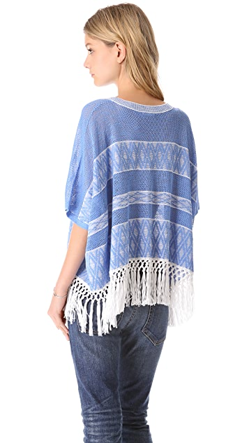 Club Monaco Phoebe Poncho Sweater