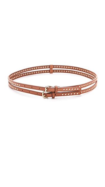 Club Monaco Lacey Double Stud Belt