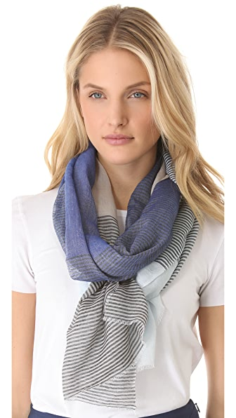 Club Monaco Subtle Stripe Scarf