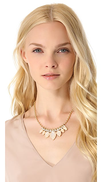 Club Monaco Opal Statement Necklace