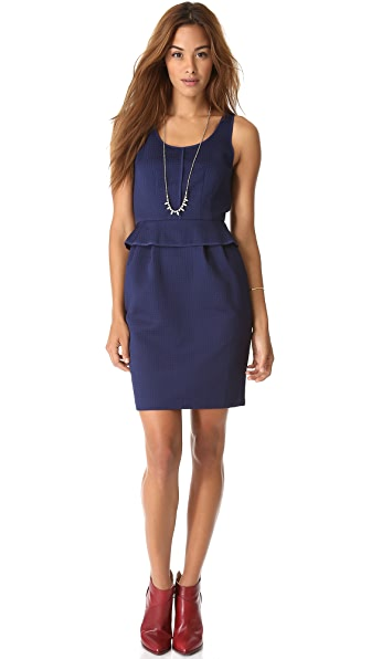 Club Monaco Onelia Peplum Dress