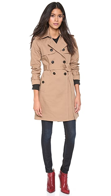 Club Monaco Emma Trench Coat