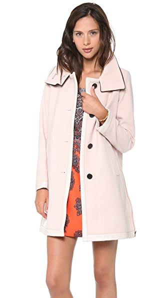 Club Monaco Stella Coat with Haircalf Collar