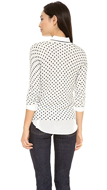 Club Monaco Abby Printed Sweater