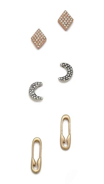 Club Monaco Robin Stud Earrings