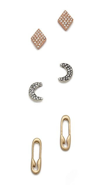 Club Monaco Robin Stud Earrings