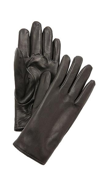 Club Monaco Claudia Leather Gloves