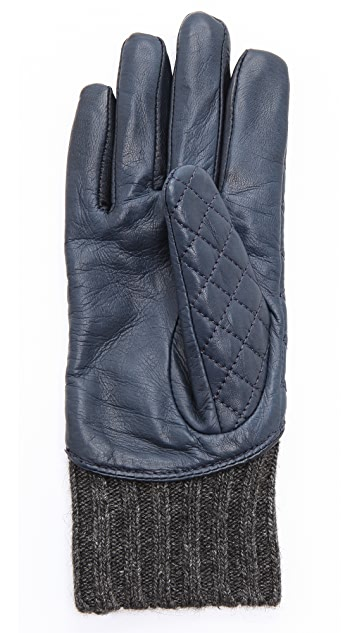 Club Monaco Sabrina Quilted Gloves