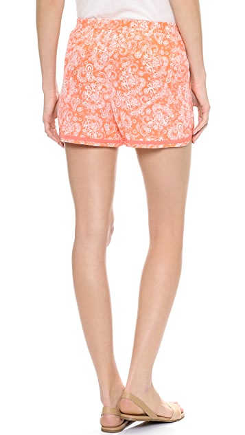 Club Monaco Keri Beach Shorts