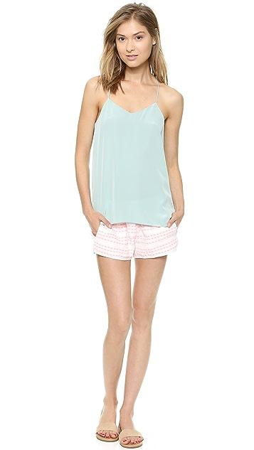 Club Monaco Megan Embroidered Shorts