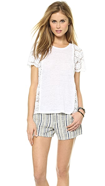 Club Monaco Allegra Lace Top