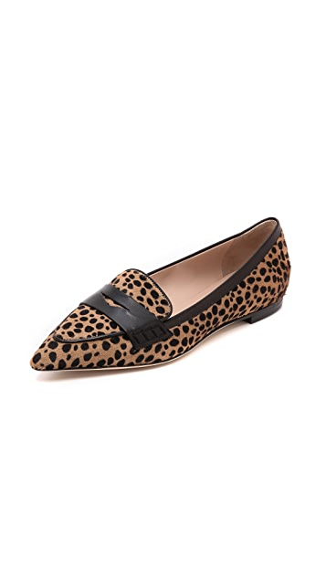 Club Monaco Sophie Haircalf Loafers