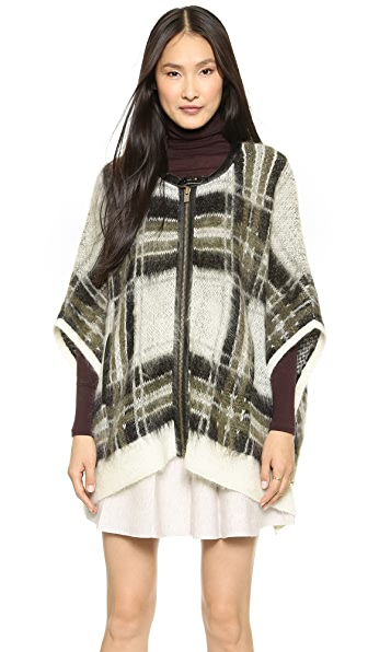 Club Monaco Gene Poncho Sweater