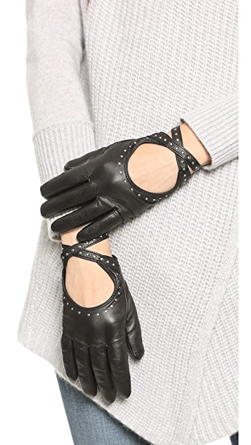Club Monaco Adee Driving Gloves