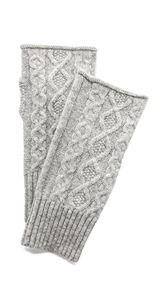 Club Monaco Lena Cashmere Cable Gloves