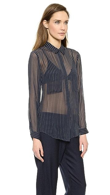 Club Monaco Coryn Silk Shirt