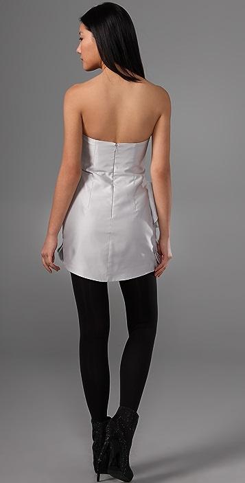 camilla and marc Asabi Strapless Dress