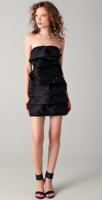 camilla and marc Felix Strapless Dress