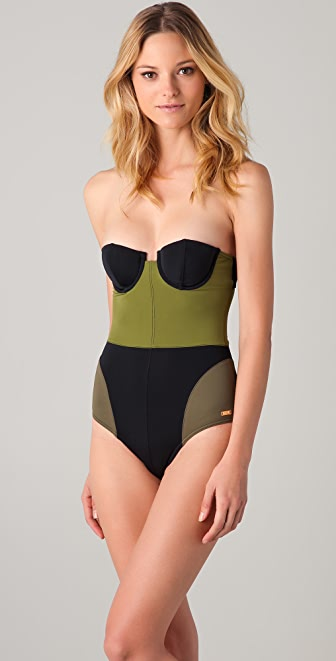 camilla and marc Colorblock Underwire One Piece
