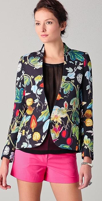 camilla and marc Rhapsody Botanical Print Blazer