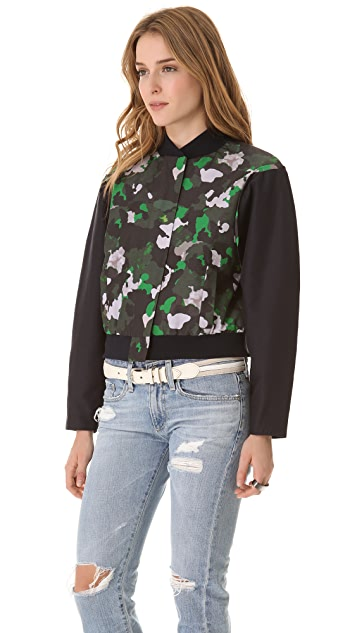camilla and marc Partition Bomber Jacket