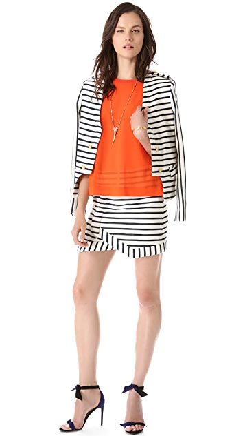 camilla and marc Navigation Striped Skirt