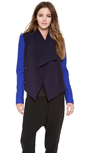 camilla and marc Commissar Drape Jacket