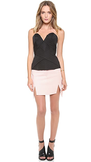camilla and marc Pentagon Textured Skirt