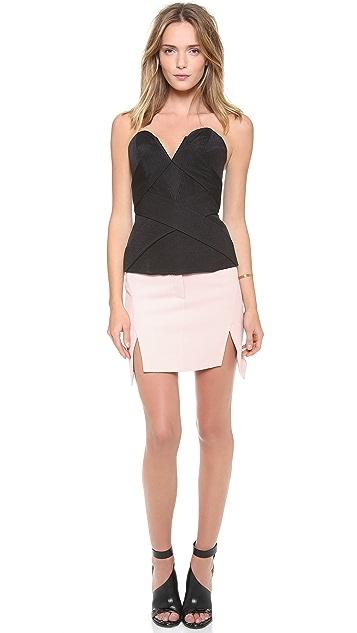 camilla and marc Pentagon Textured Skirt
