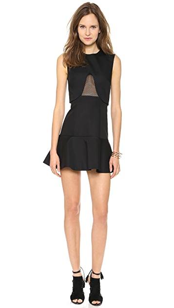 camilla and marc Multi Platform Mesh Insert Dress