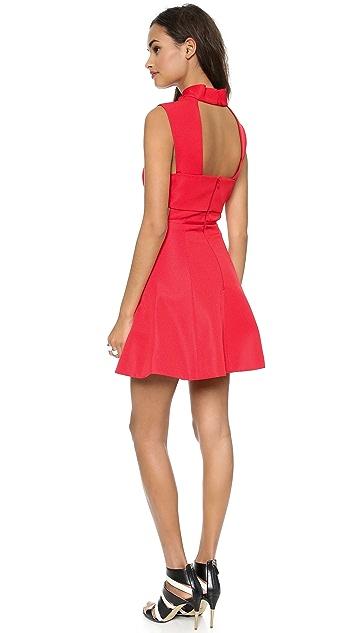 camilla and marc Vaporware Sharkskin Dress