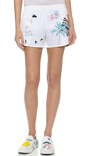 Mira Mikati Smiley Printed Shorts