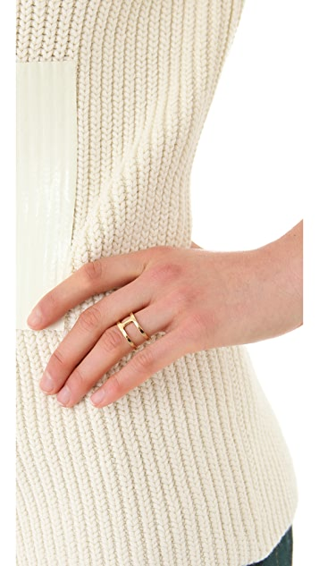 Campbell Delicate Double Ring