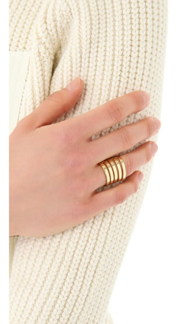 Campbell Floating Stacker Ring