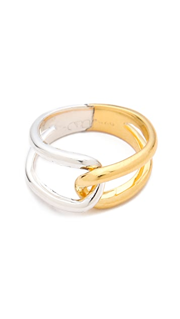 Campbell French Twist Ring