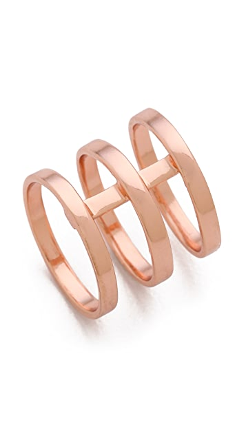 Campbell Tri Bar Ring