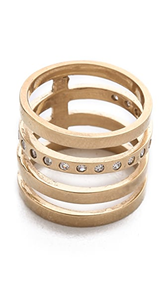 Campbell Short Floating Stacker Ring