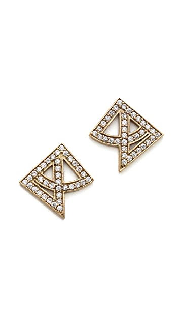 Campbell Arch Stud Earrings