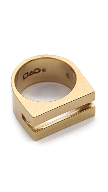 Campbell Coin Slot Ring