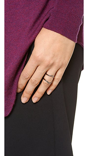 Campbell Pointed Knuckle Floater Ring